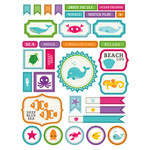 ml sea creatures stickers
