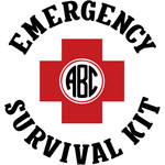 emergency survival kit monogram frame