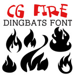 cg fire dingbats