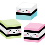 square cakes - so punny