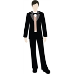 John Paper Doll Groom