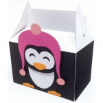 cute penguin box