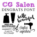cg salon dingbats