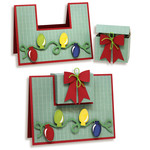 lights card with gift box