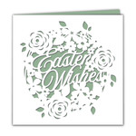 papercut easter wishes card