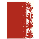 oak leaf lace edged card