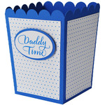 daddy time popcorn treat box