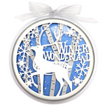 winter wonderland ball ornament