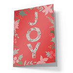 cute joy christmas card