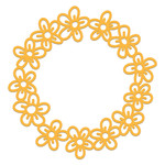 buttercups wreath