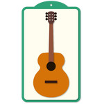 musical tag guitar acoustic