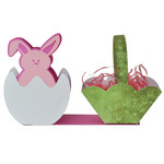 bunny in an egg - candy or egg basket