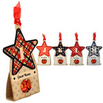 stars ijklm candy place cards