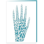 hand of peace card