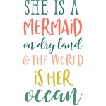 she's a mermaid phrase