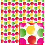 colorful ornaments pattern