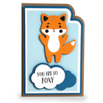 super layered fox card