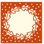 oak leaf aperture card
