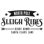 north pole sleigh rides