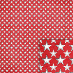 red stars background paper