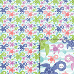 sea turtles background paper