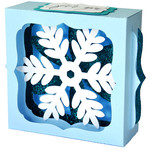 snowflake gift card box