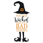 you say wicked halloween phrase