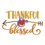 thankful and blessed fall phrase
