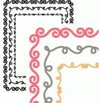 doodle border rectangle