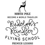 rudolph's reindeer flying school phrsae