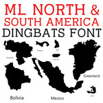 ml north and south america dingbats