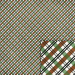green and brown plaid background paper