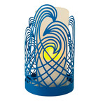 waves papercut lantern