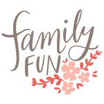 family fun hand lettered