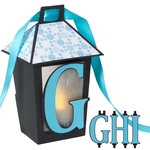 3d lantern banner with g-h-i