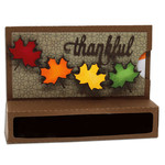 thankful candy & gift card holder