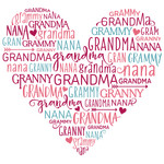 word collage - grandma
