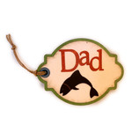 dad fish tag