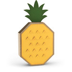 a2 box card pineapple