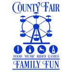 county fair sign