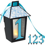 3d lantern banner with 1-2-3