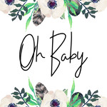 oh baby font