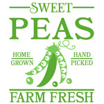 sweet peas sign