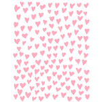 wonky hearts background 8.5x11