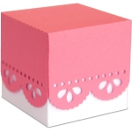 3d lace party favor box