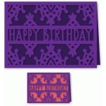 happy birthday folded card
