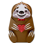 sloth hug candy pocket