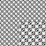 soccer ball gray pattern