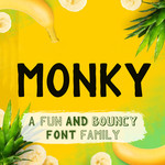monky font family