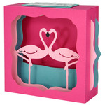 flamingo gift card box